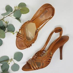 MICHAEL KORS Strappy Sandals Heels 10M